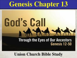 Genesis Chapter 13