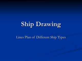 Ship Drawing