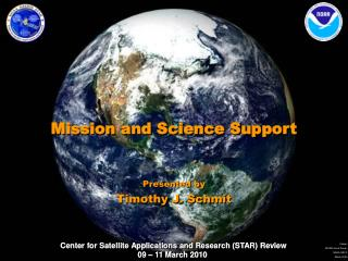 Mission and Science Support