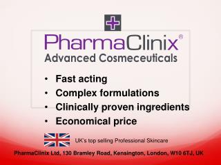 Fast acting Complex formulations Clinically proven ingredients Economical price