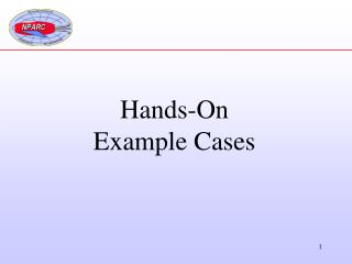 Hands-On Example Cases