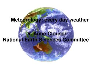 Meteorology: every day weather