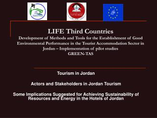 Tourism in Jordan Actors and Stakeholders in Jordan Tourism