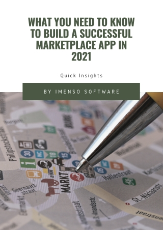 Quick Insights: What You Need To Know To Build A Successful Marketplace App In 2021