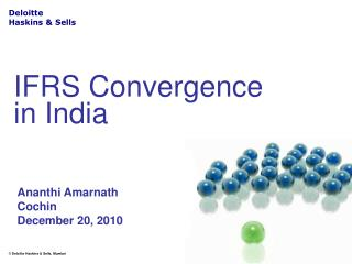 IFRS Convergence in India