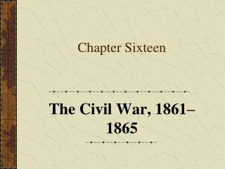 Chapter Sixteen