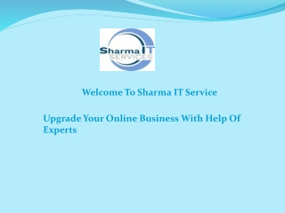Upgrade Your Online Business With Help Of Experts
