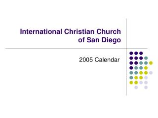 International Christian Church of San Diego