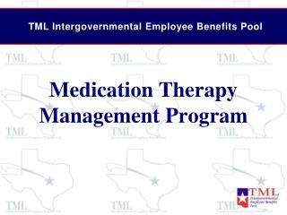 Medication Therapy Management Program