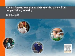 Moving forward our shared data agenda:  a view from the publishing industry