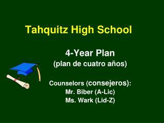 Tahquitz High School
