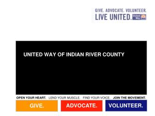 UNITED WAY OF INDIAN RIVER COUNTY