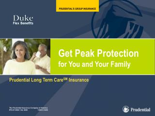 PRUDENTIAL'S GROUP INSURANCE