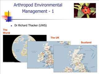 Arthropod Environmental Management - 1