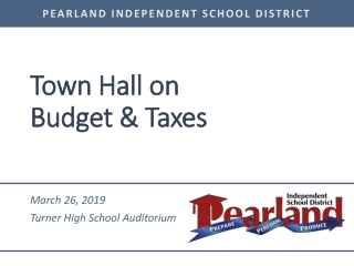 Property Tax Town Hall Meeting