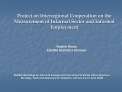 Project on Interregional Cooperation on the Measurement of Informal Sector and Informal Employment