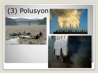 (3) Polusyon