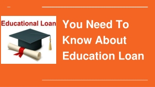 Education Loan Sponsor the Dreams of Your Life