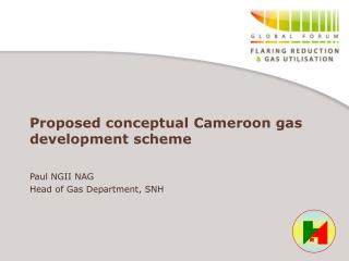 Proposed conceptual Cameroon gas  development scheme