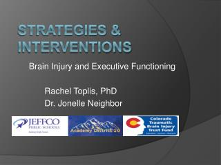 Strategies & Interventions