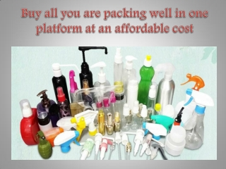 Buy all you are packing well in one platform at an affordable cost