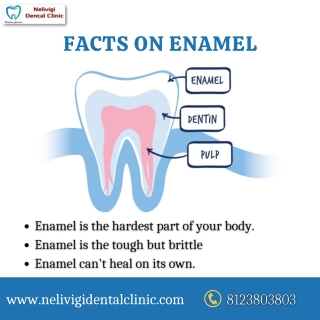 Facts on Enamel   Best Dental Clinic in Bangalore   Nelivigi Dental Clinic