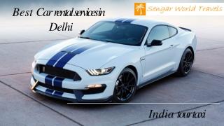 Best Car rental services in  Delhi