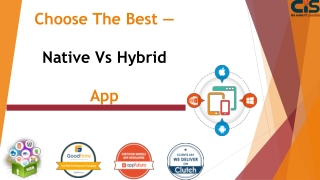 Choose The Best — Native App Vs Hybrid App
