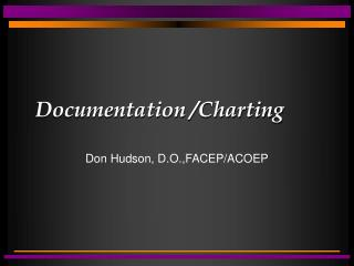 Documentation /Charting