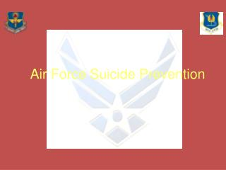Air Force Suicide Prevention
