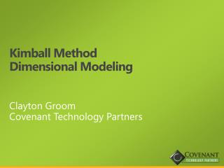Kimball Method Dimensional Modeling