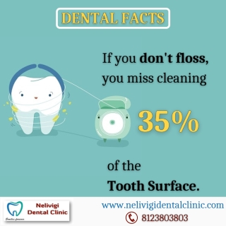 Dental Flossing Facts   Best Dental Clinic in Bangalore   Nelivigi Dental Clinic