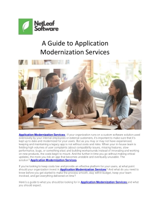 A Guide to Application Modernization Services-converted