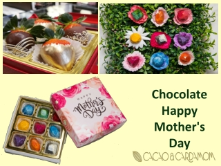 Mothers Day Chocolate Personalized Gifts | Chocolate Happy Mother's Day