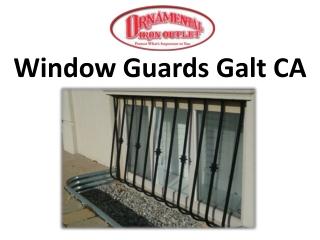 Window Guards Galt CA