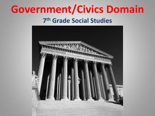 Government/Civics Domain