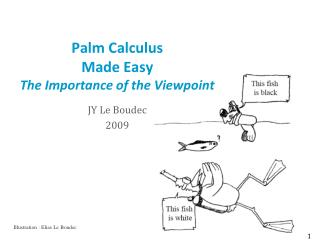 Palm Calculus Made Easy The Importance of the Viewpoint