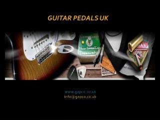 Guitar pedals uk