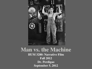 Man vs. the Machine