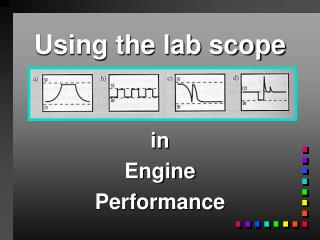 Using the lab scope