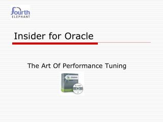 Insider for Oracle