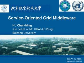 Service-Oriented Grid Middleware