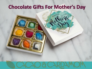Mother's Day Gifts Ideas - Personalized Chocolate Gift Boxes