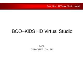 BOO-KIDS HD Virtual Studio