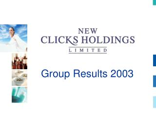 Group Results 2003