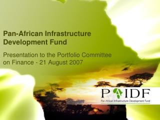 Pan-African Infrastructure Development Fund