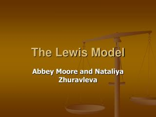 The Lewis Model
