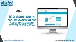 ISO 55001 Documents Requirements for Asset Management System