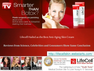 Buy Life Cell and Take the Gamble Out of Wrinkle Removal