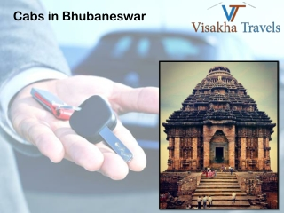 Book today the best Cabs services in Bhubaneswar at low cost
